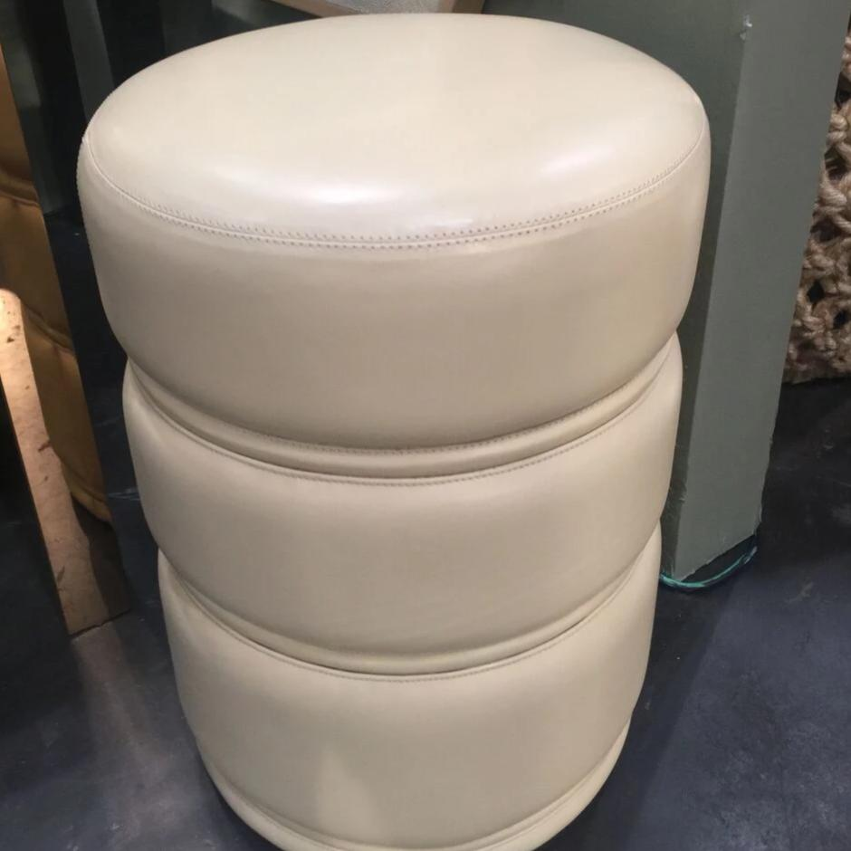 worlds away vaughn stool white leather