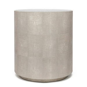 made goods cara shagreen side table sand antique mirror top bed side table side tables for living room round side table
