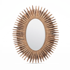 made goods donatella oval mirror hand crafted wood decorative mirrors mirrors large mirror bathroom wall mirror