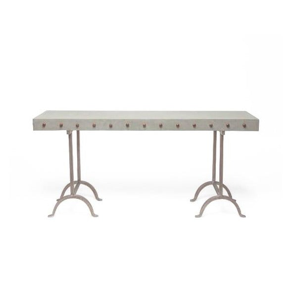 made goods peter console concrete made goods carter mirror large seal beveled mirror CARTER MIRROR (LARGE) SEAL console table media console narrow console table modern