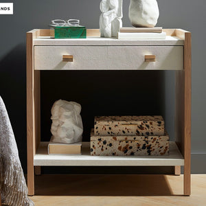 MADE GOODS Kennedy double nightstand white