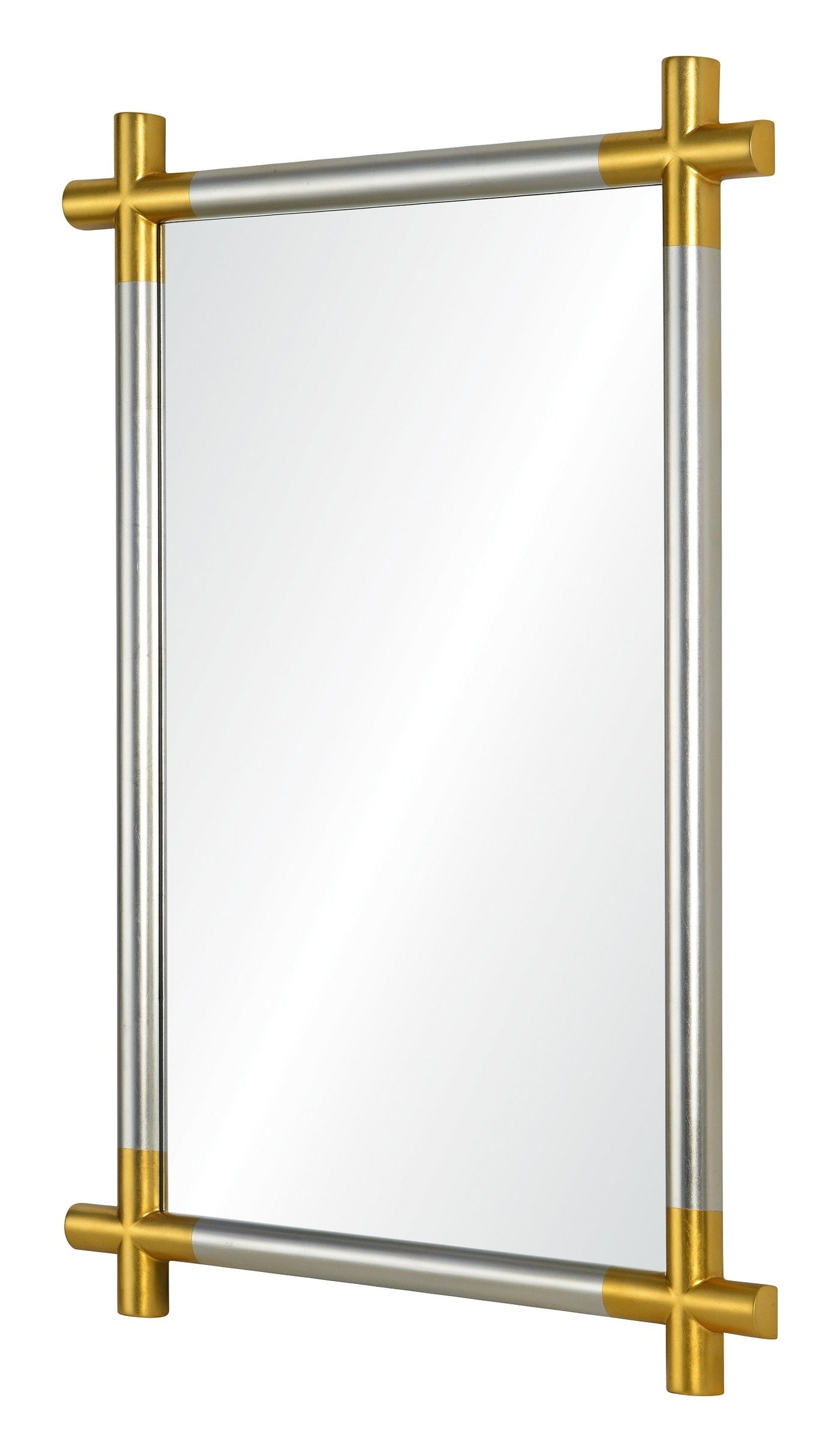 Cosmo Silver and Gold Mirror