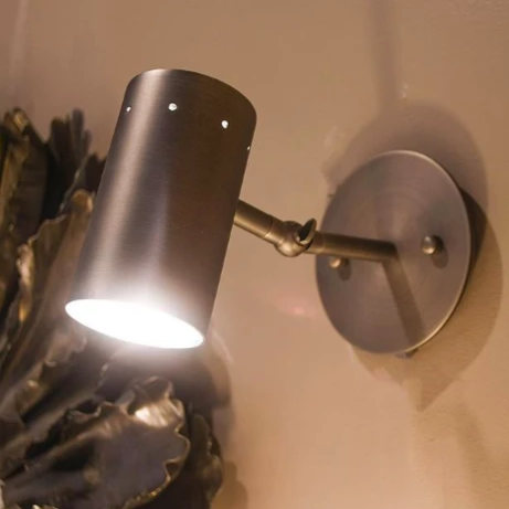 jamie young Milano sconce silver showroom market