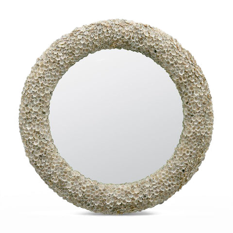 made goods jules mirror shell round
