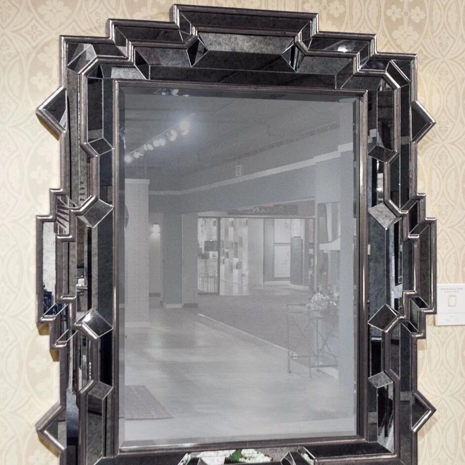Dutch Brown and Antiqued Mirror
