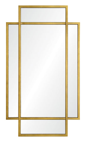 mirror image home gold cosmos mirror