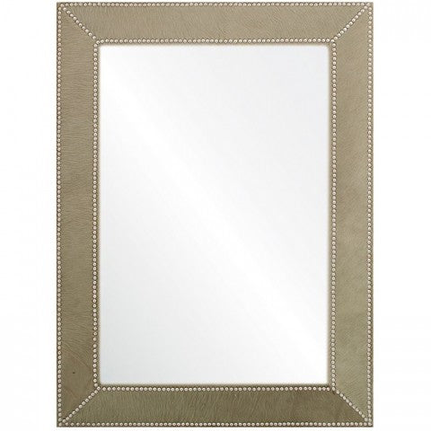 mirror image home green hide mirror