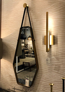 arteriors home Ripley mirror oval geometric rectangle