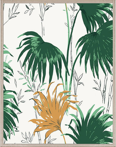natural curiosities green and yellow palm leaves 1