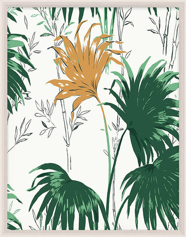 natural curiosities green and yellow palm leaves 2