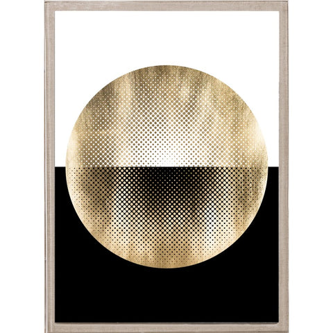 natural curiosities halftone circles gold