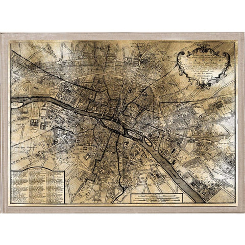 natural curiosities gold city paris map