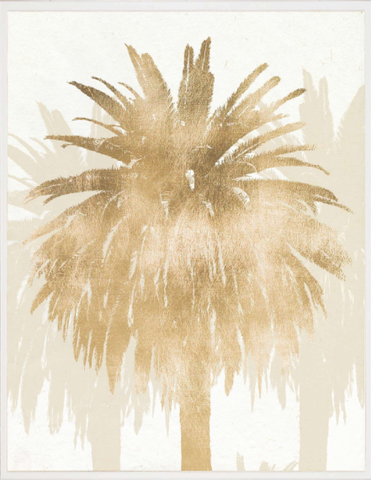 Natural Curiosities Royal Palm Paper Art Work Wall Hanging