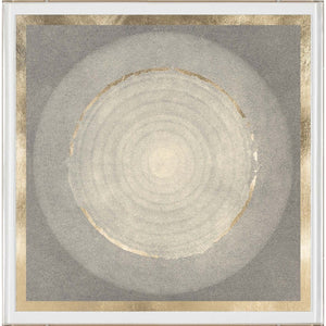 natural curiosities solaris 3 wall art paper and gold leaf