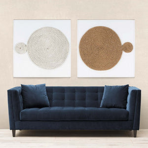 natural curiosities unwind wall art styled