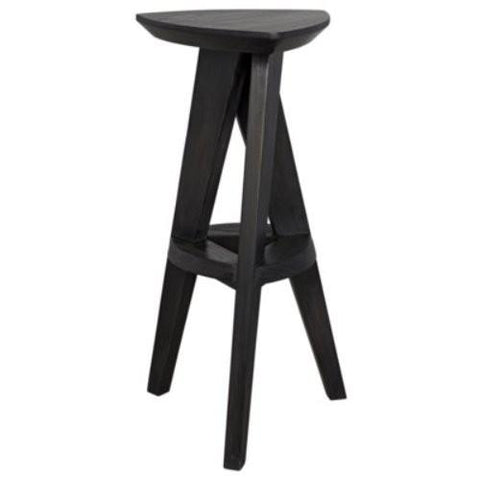 noir twist bar counter stool