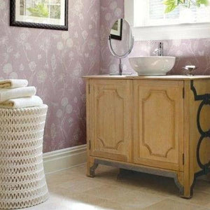 oly pipa side table in bathroom