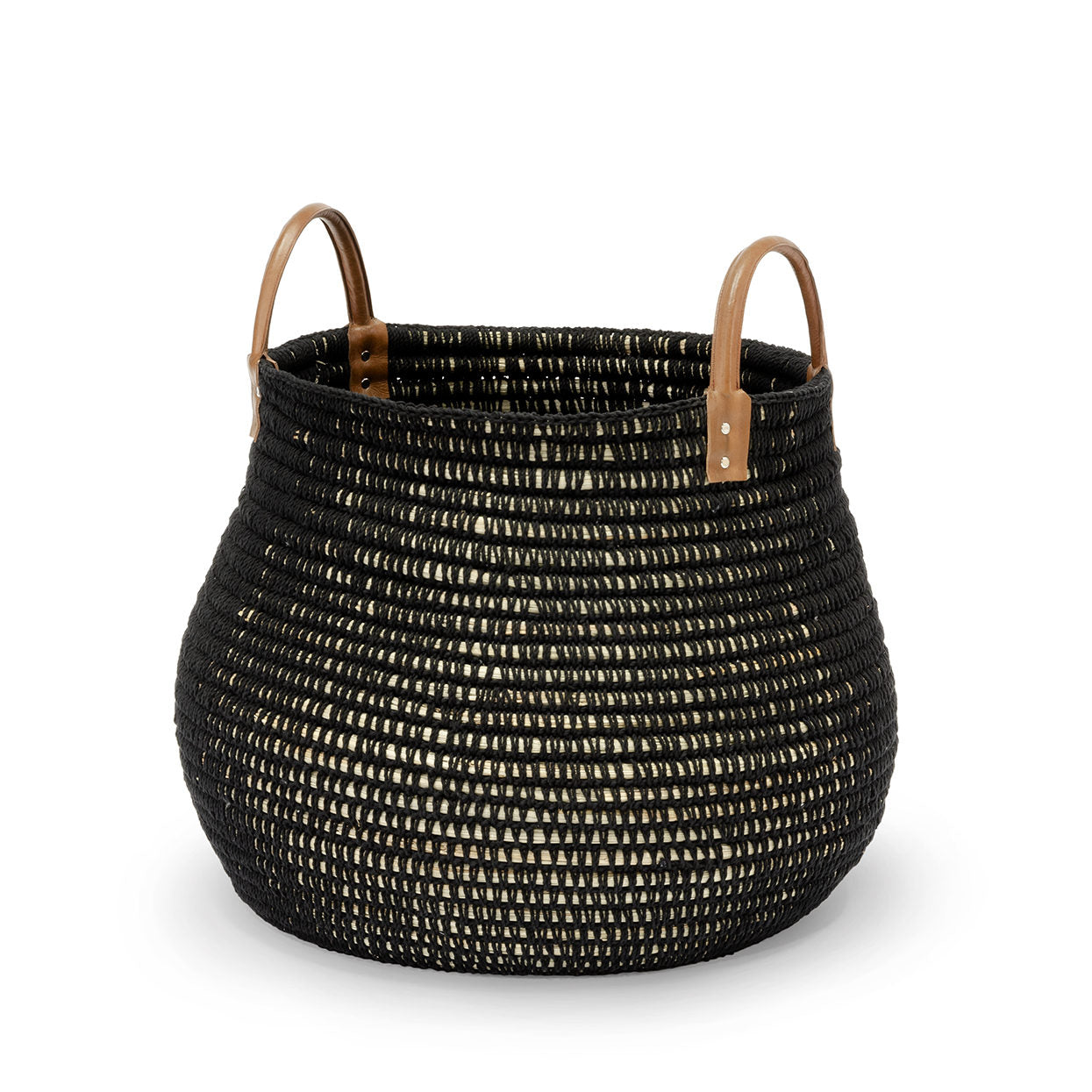 Cairo Basket Black Two Sizes