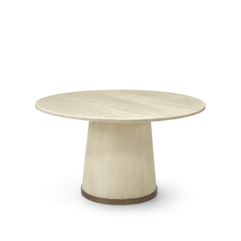 palecek conrad dining table gold
