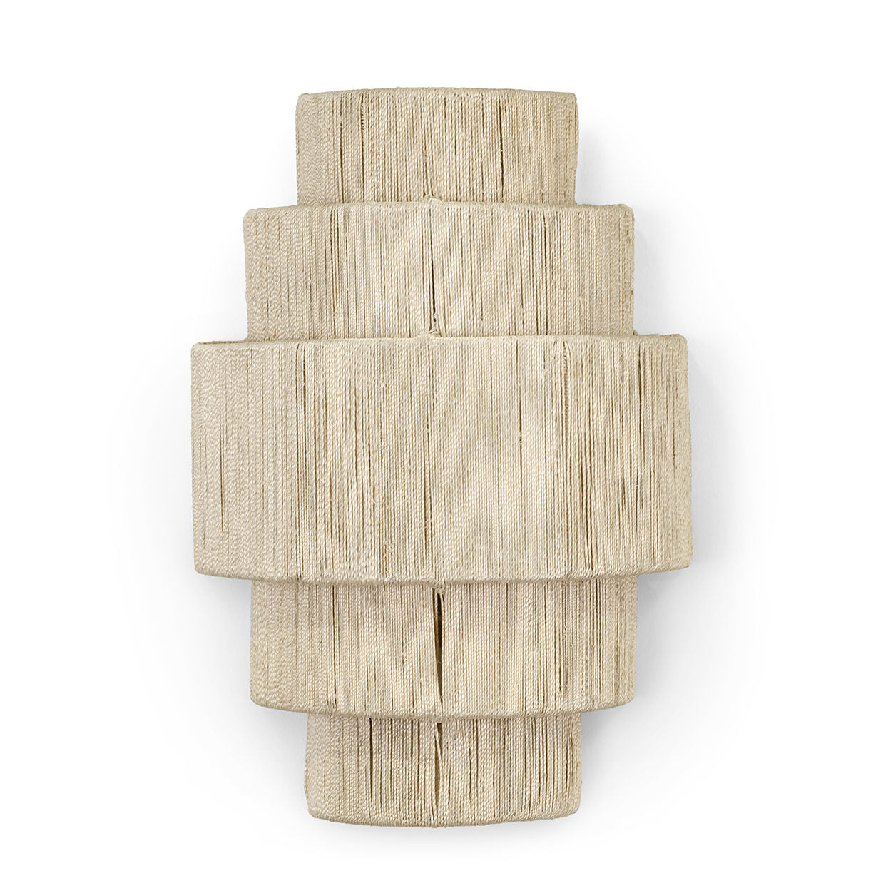 palecek everly 5 tiered sconce detail