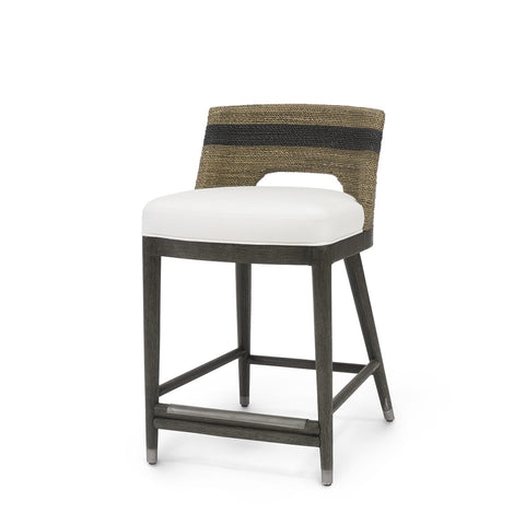 palecek fritz rope counter stool