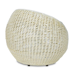 palecek outdoor wicker swivel stool white back