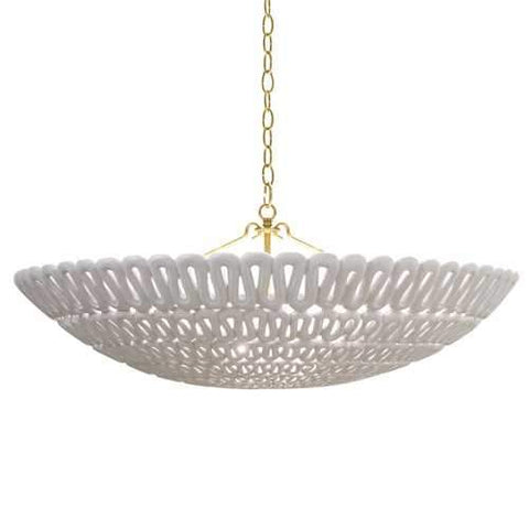 oly pipa bowl chandelier