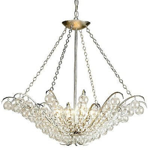 currey and company quantum chandelier glass iron metal
