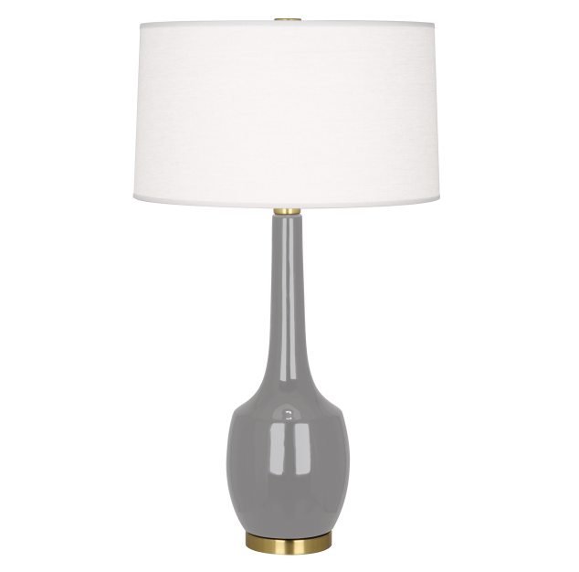 Robert Abbey Delilah Table Lamp Lighting Ceramic Grey