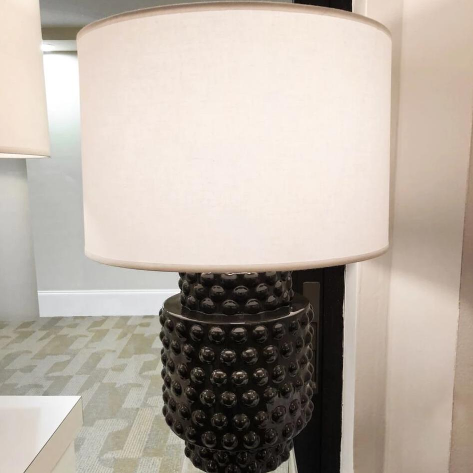 Robert Abbey Dolly Accent Lamp White Shade