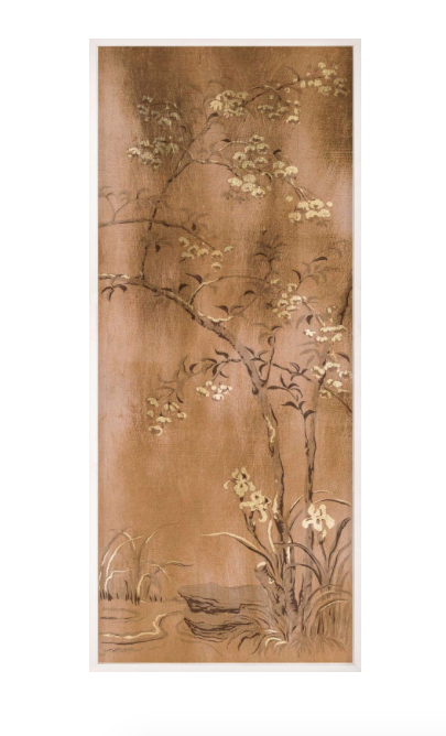 Natural Curiosities Rococo Gold and Bronze 4 Wall Art Work