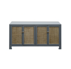 worlds away Sofia cabinet gray lacquer