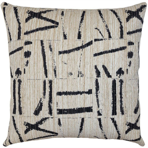 square feathers soto maze pillow