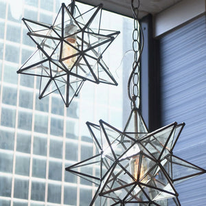 worlds away star clear glass chandelier 2 sizes