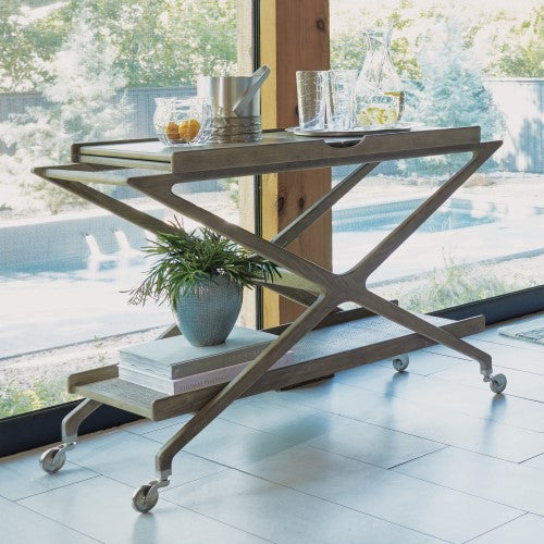 Studio A Campaign Bar Cart Clayton Gray Home