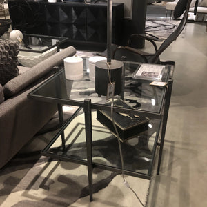 STUDIO A LAFORGE SIDE TABLE IRON SHOWROOM
