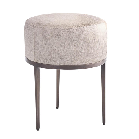 studio a Urban Stool Grey Hair on Hide Antique Gunmetal tearsheet