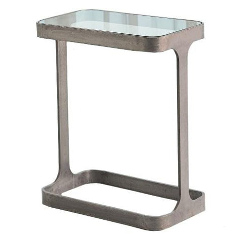 studio a saddle table natural iron