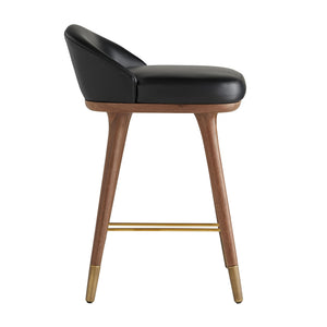 arteriors walsh counter stool side