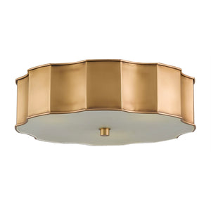 currey and company wexford flush mount brass