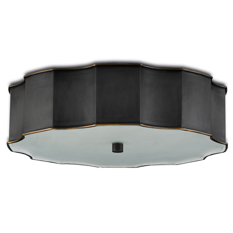 currey and company wexford flush mount bronze