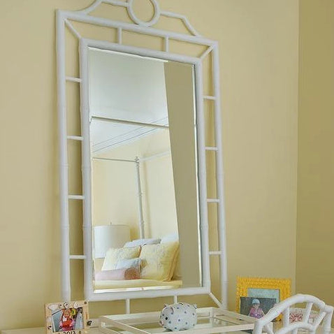 bungalow 5 Chloe Mirror wall white rectangle