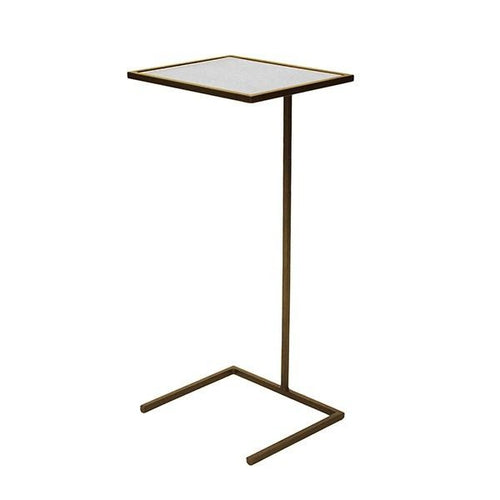 worlds away brz cigar table square bronze angle