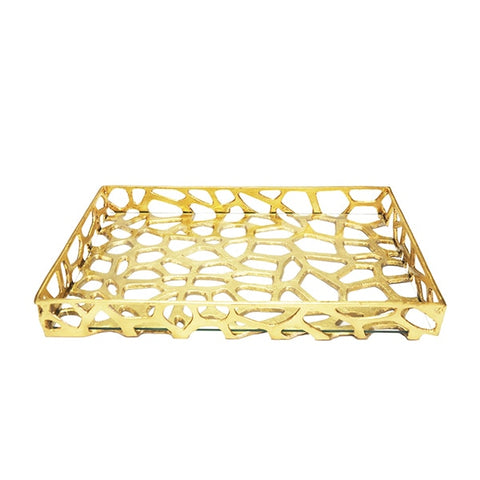 worlds away byron tray gold