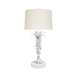 worlds away capri table lamp white
