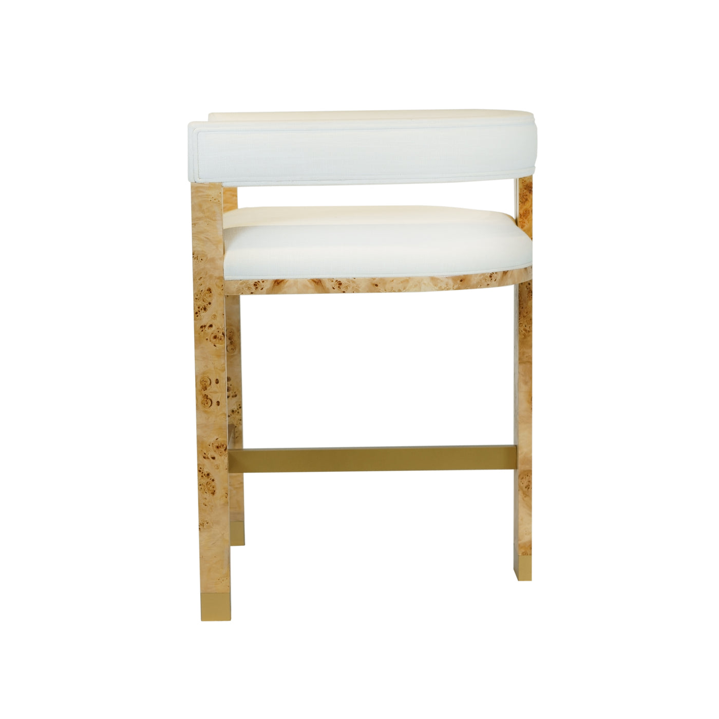 worlds away cruise counter stool burl side