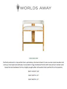 worlds away cruise counter stool tearsheet