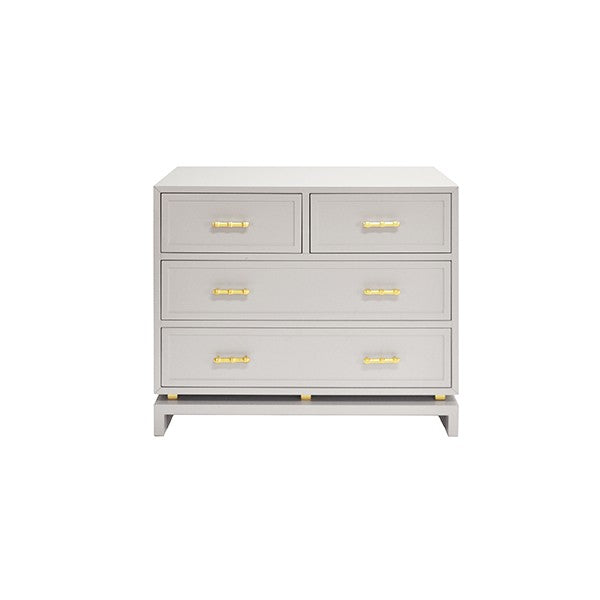 worlds away declan chest gray grey 5 drawers bedroom storage