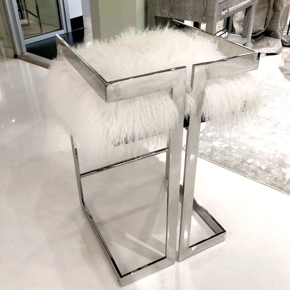 worlds away emmett stool nickel and fur