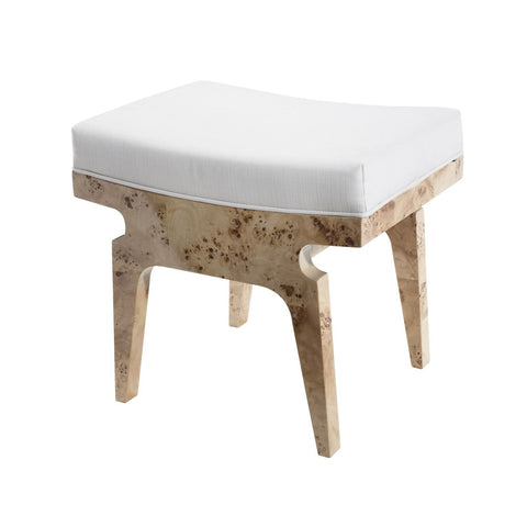 worlds away fergie stool burl wood